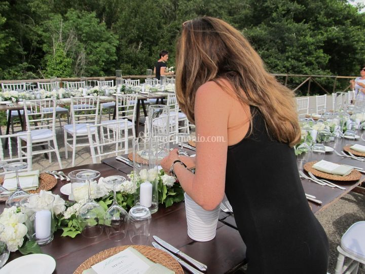 Allestimento nude table