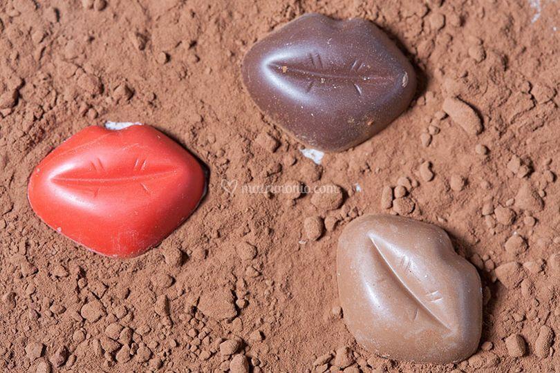 I nostri tre cioccolatini