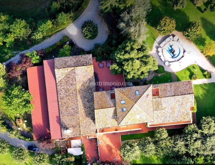 Casale dal Drone