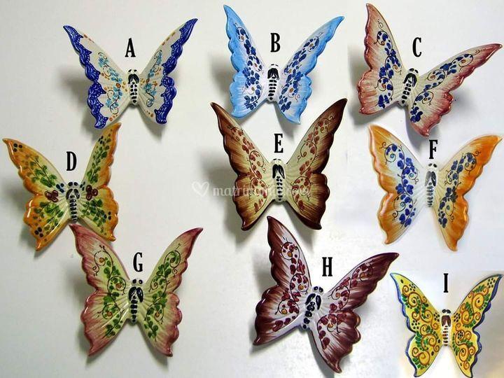 Farfalle serie Ramiscelli