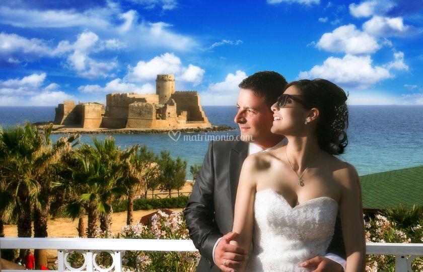 Balconcino vista castello