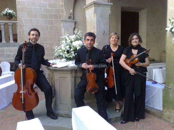 Musica Matrimonio Toscana : Quartetto musica per cerimonia di matrimonio foto