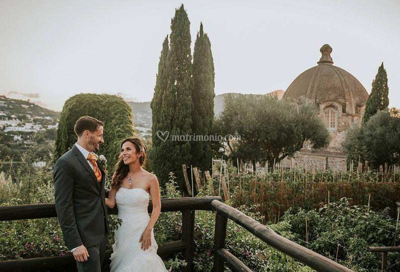 Wedding on the AragoneseCastle