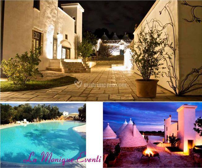 Romantica e raffinata location in Puglia