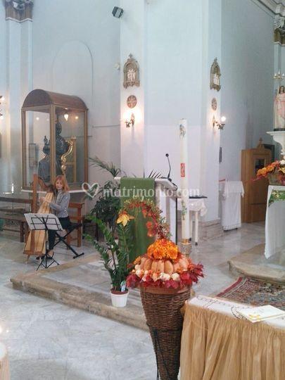Music Harp Wedding