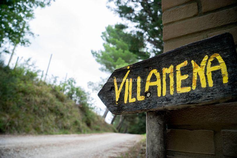 Villamena direzione