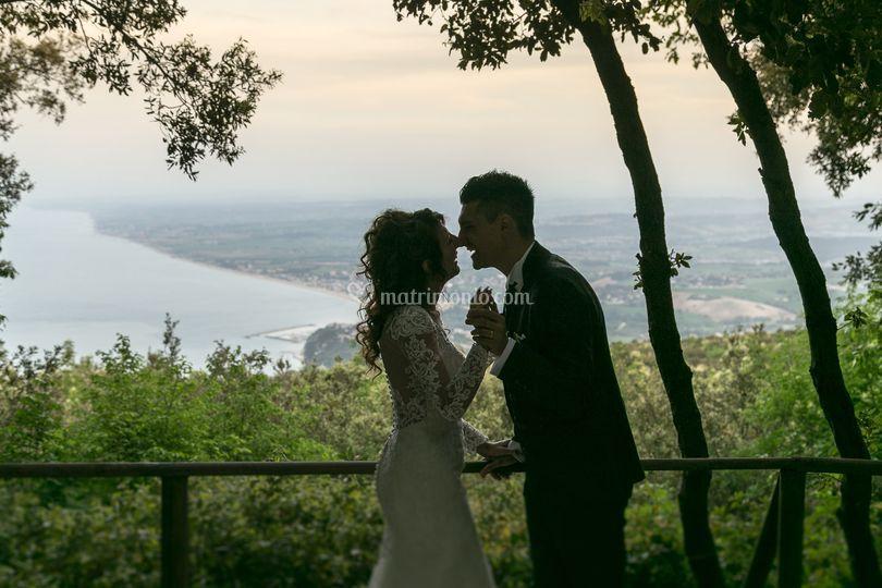 Foto matrimonio monte conero