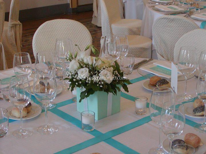 Addobbi Matrimonio Azzurro Tiffany : Addobbi matrimonio verde tiffany cheap colore