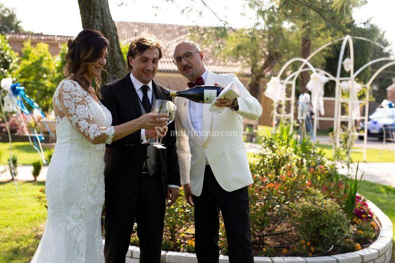 Sposi e staff