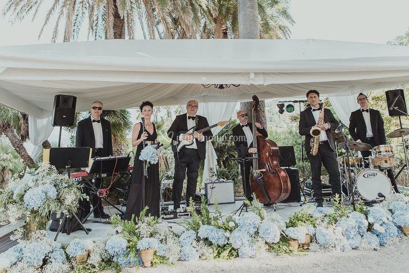 Jazz band live in Savona