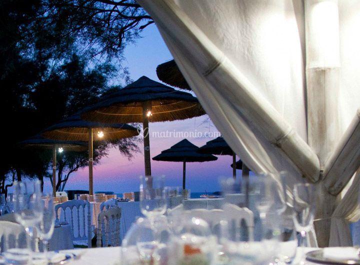 Il gala al Guna Beach