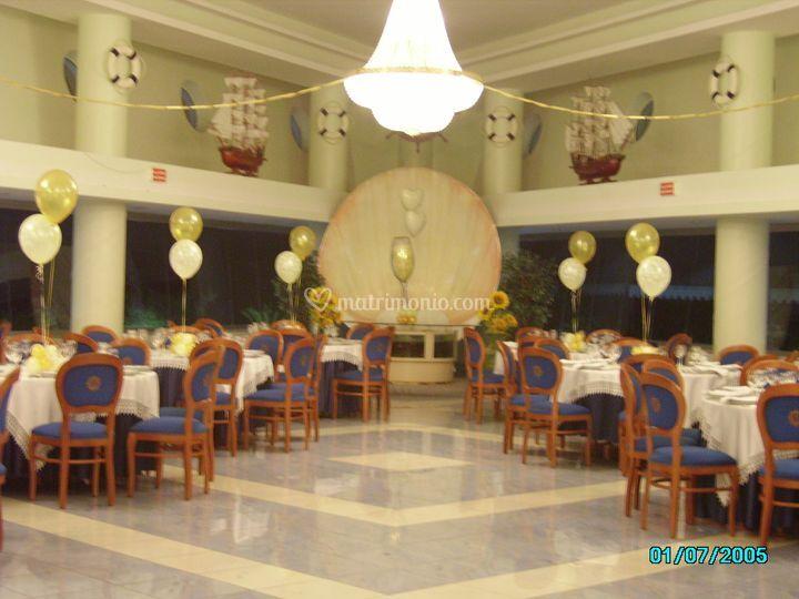 Decorazioni tavoli invitati