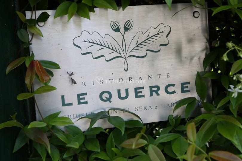 Logo Ristorante Le Querce
