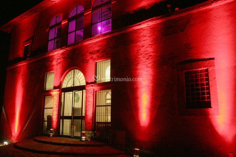 Illuminazione casale di noleggio audio e luci foto 2