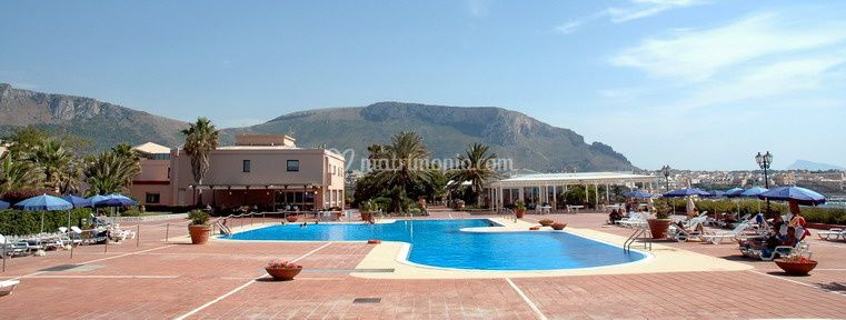 La terrazza piscina