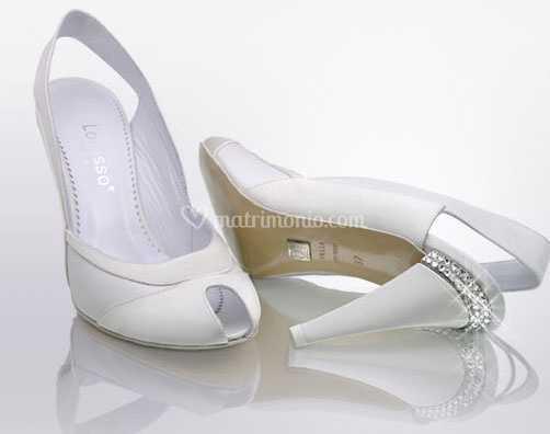 Scarpe Sposa Lorusso.Scarpe Da Sposa Mod 4 Di Calzaturificio Lorusso Alta Moda Foto 17