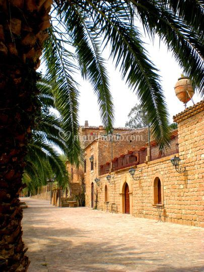 Villa della Meraviglie - spazi esterni
