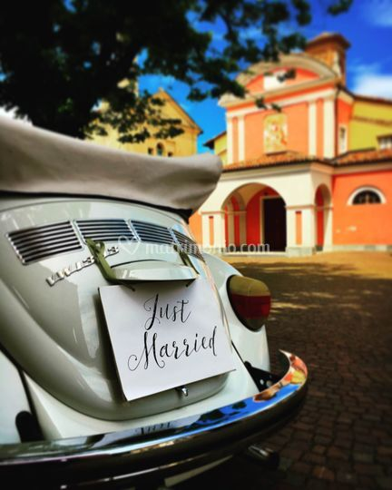 Deluxe Car - Just Married