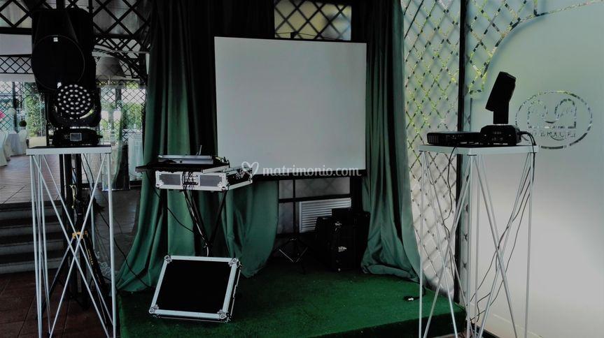 Impianto audio video e luci