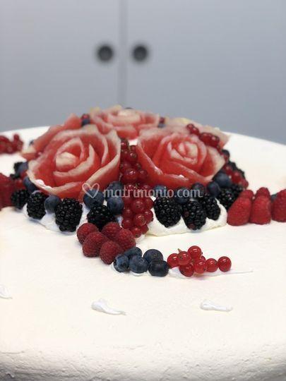 Bouquet frutti rossi