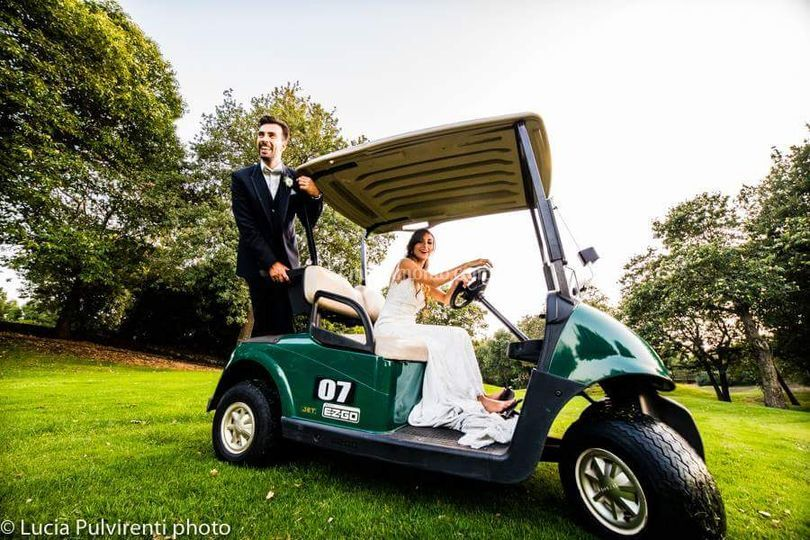 Sposa alla guida