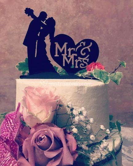 Lucia cake MR & MRS