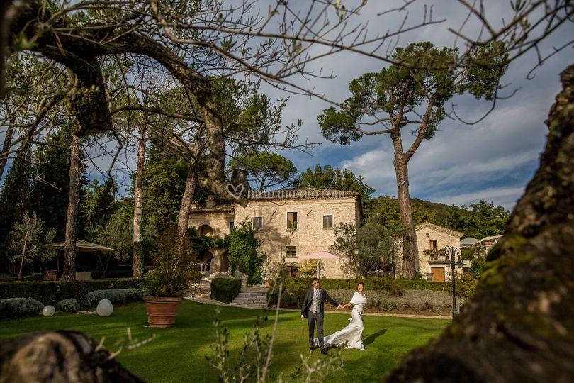 Fotografo Matrimonio villa amo