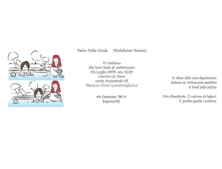 Partecipazione con caricatura