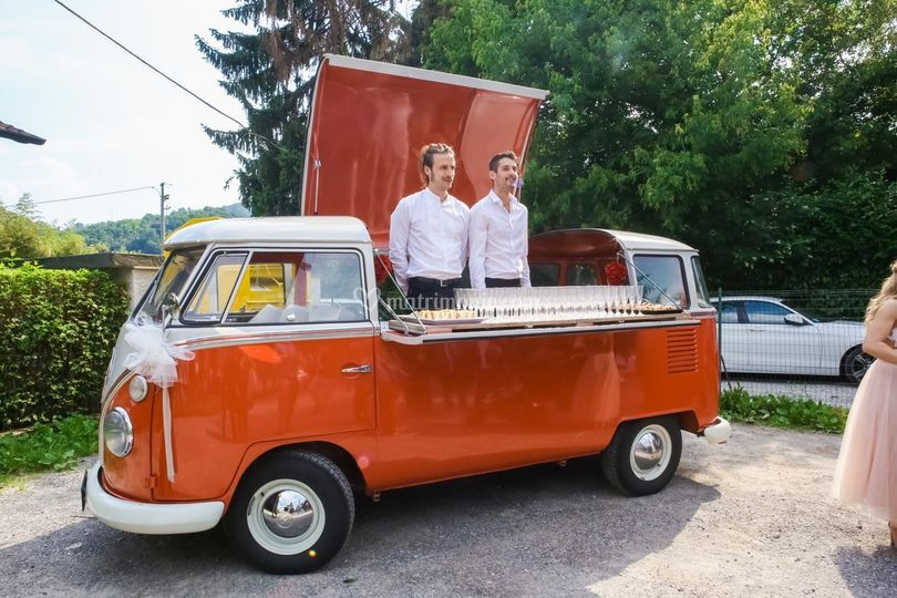 Pulmino Volkswagen Street Food