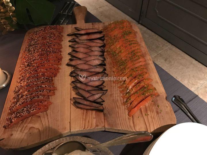 Degustazione salmone