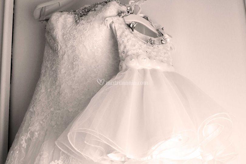 Sposa e damigella d'onore