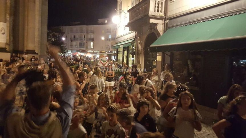 Festa in piazza a Verbania