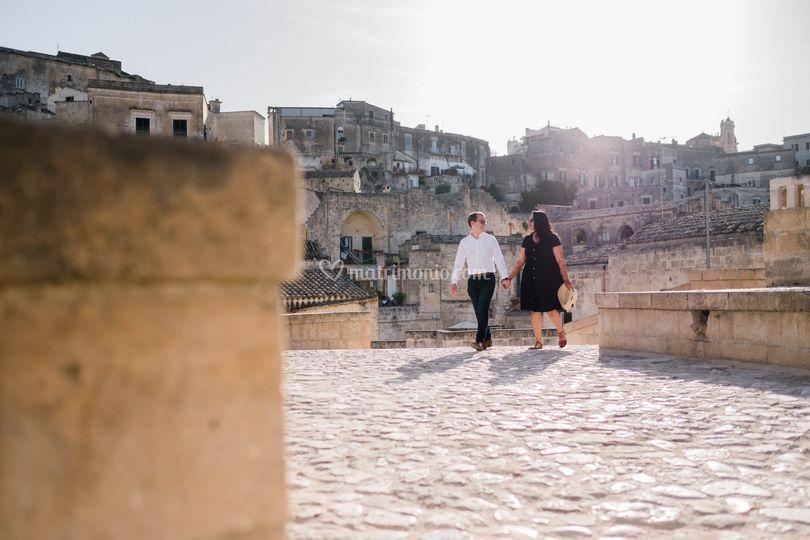 Honeymoon in Matera