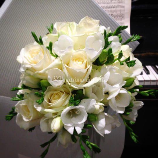 Bouquet Rose&Fresie di I fiori di Bruna s.n.c. di Bagaini