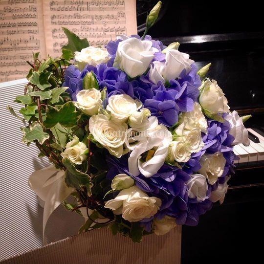 Bouquet roselisiantus&ortensie