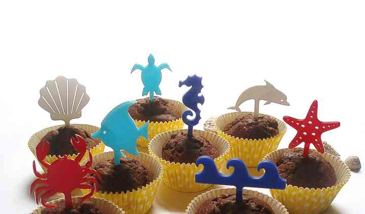 Cupcake topper evento a tema