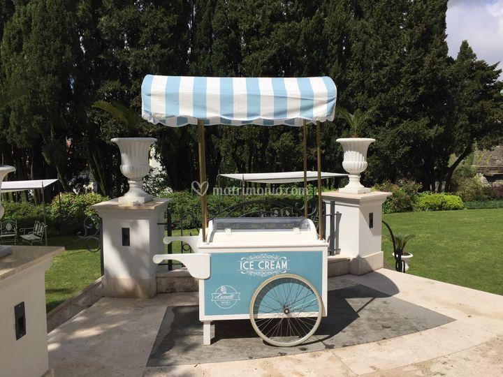 Carretto gelati matrimonio di carretti roma foto for Noleggio arredi roma