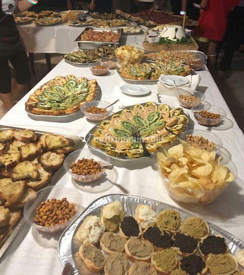 Aperitivo e buffet benvenuto