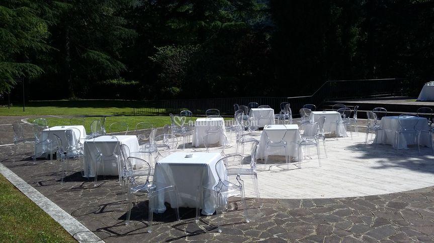 Villa Berardi Vallio Terme Giardino