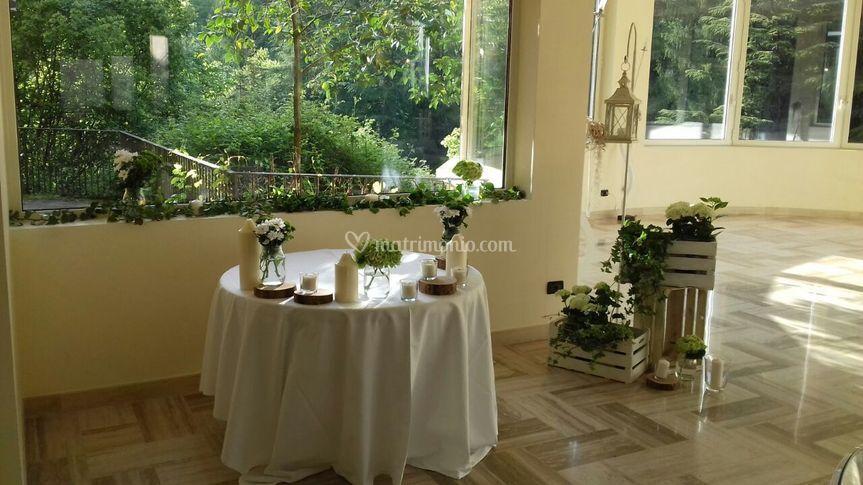 Tavolino sposi