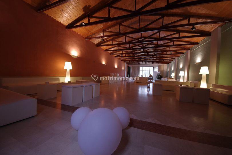 Sala capriate