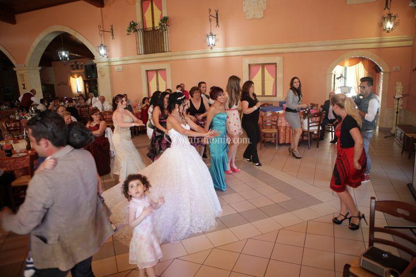 Wedding-disco in action