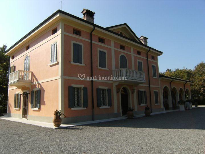 Villa vista esterna