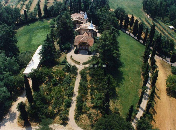Villa crocioni foto panoramica
