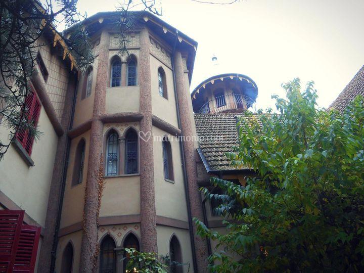 Villa crocioni - esterno