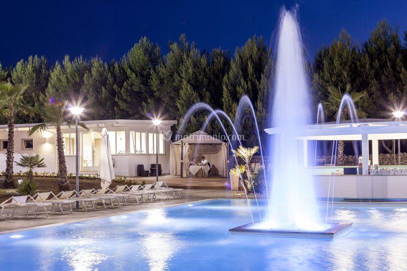 Piscina grottella resort