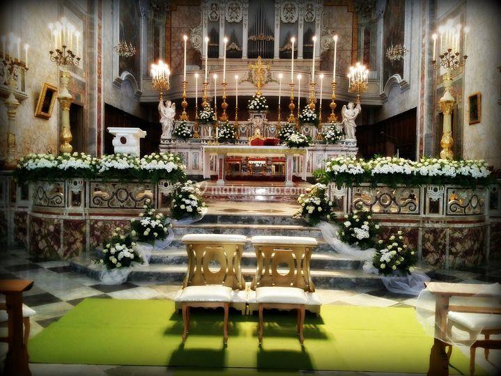 Addobbo chiesa 4