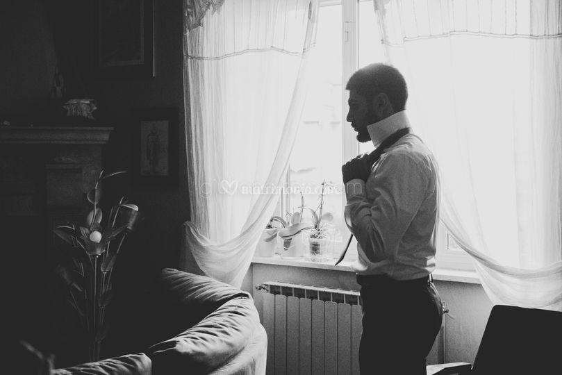 Foto a casa dello sposo