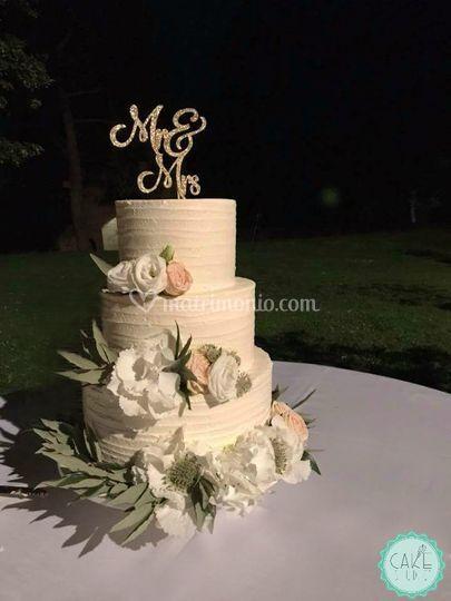 Wedding cake crema di burro