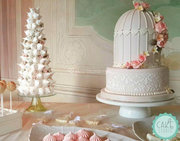 Wedding cake e meringhe